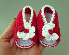 Crochet Baby sandals Summer sandals Custom baby shoes