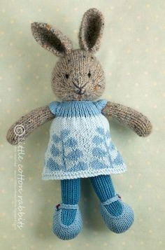 10 Little cotton rabbits, cats etc This is Wyeth