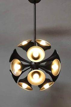Large multi light pendant