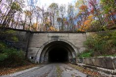 Entrance to one of the abandoned Pennsylvania Turnpike tunnels [2048x1365][OC]. wallpaper/ background for iPad mini/ air/ 2 / pro/ laptop @dquocbuu