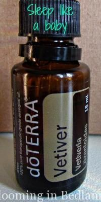 Vetiver - Use for Sleep - one drop on the bottom of each big toe at night-love this blog