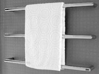 Kado Bar from Reece Wall Mounted Heated Towel Rail $285.00 gst inclusive