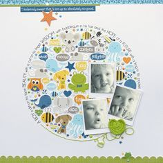 I solemnly swear *BellaBlvd* - Scrapbook.com - Favorited this week at Scrapbook.com. LOVE all the fussy cut little critters :)