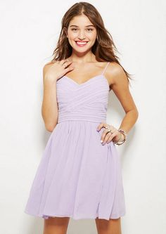 Short Pleated Dress (Lilac): This is such a cute dress!!! It's simple, but great for formal occasions.