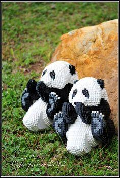 Lego Panda Babies