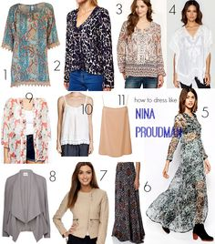 How to dress like Nina Proudman