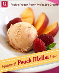 Jan 13 - National Peach Melba Day