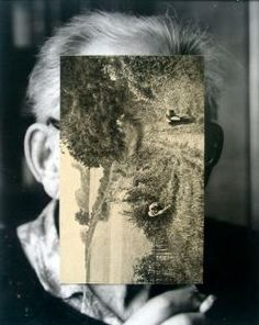 British artist John Stezaker creates surreal collages for his numbered 'Masks' series. Using black and white portraits from the and he covers the. Collages, Surreal Collage, John Stezaker, Where Is My Mind, Saatchi Gallery, Galleries In London, Artist Profile, Paris Photos, Black And White Portraits