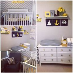 The details in this nursery are too cute!Tagged to us by @rohini_dhaliwal... - Home Decor For Kids And Interior Design Ideas for Children, Toddler Room Ideas For Boys And Girls
