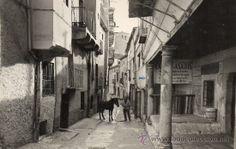 Sepúlveda. Calle de Tetuan, ahora Calle Lope Tablada #Sepulveda