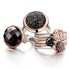 Gorgeous range of Ti Sento Rings.