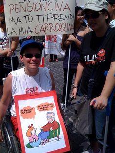 """""""Niente su di noi, senza di noi"""". Eccoci a Roma!"""