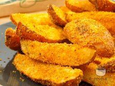 Cartofi crocanti la cuptor. Imagini pas cu pas pentru cartofi crocanti la cuptor