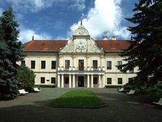 Chateau in Trebišov, Košice region, Slovakia