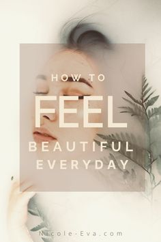 You're beautiful, and that's a fact. Another fact is that we don't always feel beautiful all of the time. These 5 super simple steps you can start TODAY can help you to FEEL beautiful EVERY DAY You're Beautiful, How To Feel Beautiful, Creative Hub, Beauty Quotes, Super Simple, Self Esteem, That Way, Lifestyle Blog, Hair Care