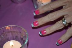summer nails that a guest showed off at my @redbookparty
