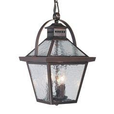 large exterior pendant lights | Acclaim Lighting 7676 Bay Street 3-Light Street Large Outdoor Pendant