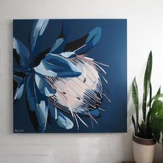 Buy online a limited edition canvas print of an original Anya Brock painting. Comes with a signed and numbered Certificate of Authenticity. Canvas Art, Canvas Prints, Art Prints, Painting Inspiration, Art Inspo, Protea Art, Decoration Table, Flower Art, Art Photography