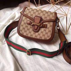 Gucci Lady Web Original GG canvas bag for sale at https://www.ccbellavita.eu