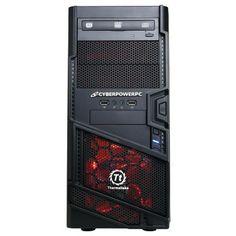 Computador CyberpowerPC Gamer Ultra GUA380 Desktop Red Black #Computador #CyberpowerPC