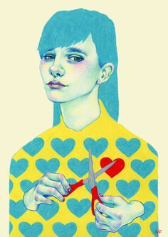 Optically Addicted: The Colourful and Melancholy Illustrations of...
