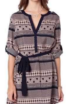 Rivera Shirt Dress