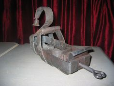 IRON SHOE |. Museum of tortures in Peter and Paul Fortress, St. Petersburg, Russia