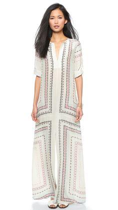 BCBGMAXAZRIA Olivia Long Tunic Dress