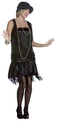 Gatsby Christmas party | Gatsby Girl Flapper Costume - Flapper Costumes - Party Supplies