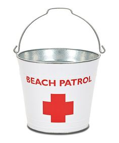 Take a look at this Beach Patrol Bucket by The MacBeth Collection on #zulily today!