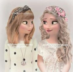 Disney real Anna looks like TSwift