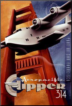 Aeropacific Clipper 314 • Port of San Francisco by Michael L. Kungl