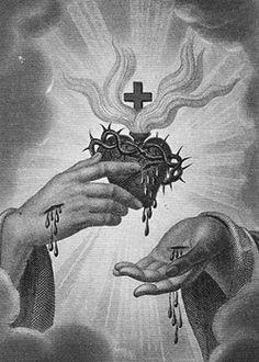Religious Tattoos, Religious Icons, Religious Art, Jesus Tattoo, Jesus Christ Images, Jesus Art, Sagrado Corazon Tattoo, Sacred Heart Tattoos, Catholic Pictures