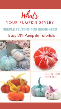 Easy Arts And Crafts, Diy And Crafts Sewing, Sewing Projects, Craft Projects, Halloween Table, Diy Halloween Decorations, Halloween Crafts, Halloween Stuff, Diy Pumpkin