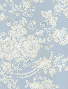 #wallpaper from Ralph Lauren #french blue #cassandre et quentin