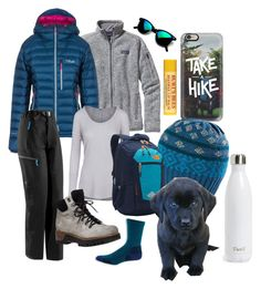 """""""Take a hike"""" by peacefuranimals on Polyvore featuring Casetify, Patagonia, Rab, Arc'teryx, S'well, prAna, L.L.Bean, Free People, 275 Central and The North Face"""