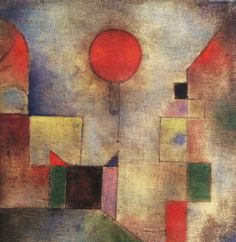 Paul Klee - Red Balloon