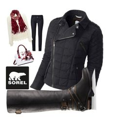 """Tame Winter with SOREL: Contest Entry"" by amy-riley-i on Polyvore featuring Benetton, maurices, SOREL and sorelstyle"