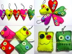 felt crafts | ... ,Mission as Khalifah: In love with felt-craft and handmade card