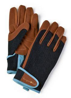 BURGON & BALL Dig the Glove - Denim L/XL