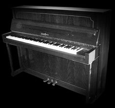 The Braunschweig Upright Piano has a distinctive sound character that's far more intimate than a grand piano, making it desirable for certain situations where you don't want the polished and precise sound of a nine-foot grand in a concert hall.