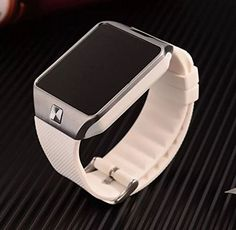 Tesha White Smart Watch Bluetooth iPhone  Android *** Want to know more, click on the image.