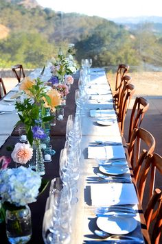 Special Dinner Event at our Imagine Property above the Poetry Inn at Cliff Lede Vineyards. The view is stunning!