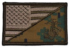 USA Flag / Marine Corps' EGA 2.25x3.5 Military Patch / Morale Patch - Multiple Color Options (Woodland Marpat) Tactical Gear Junkie http://www.amazon.com/dp/B00NVKBRVM/ref=cm_sw_r_pi_dp_906Eub1JXD6R8