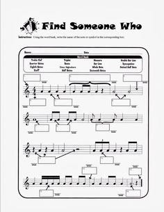 Musical Musings: Match Mine Beginning of the year… pre-assessment of music reading (not including note names)