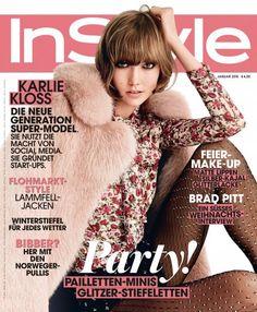 InStyle Januar 2015 mit Coverstar Karle Kloss