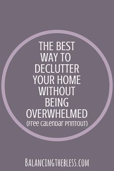 Having everything in my home decluttered and clean is my goal. I believe we cause ourselves so much extra stress in our lives by having clutter that is unneeded. As humans, we hold on to stuff for comfort not realizing it is just causing us stress in our lives. Decluttering simplified.