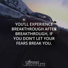You'll experience breakthrough after it, if you don't let your fears break you. Passion serves its purpose to help give a person motivation to learn the necessary skills and overcome the hardships they're going to face. #inspirational #lifechanging #lifecoaching #motivational #lifecoachtraining #lifecoaching #lifecoachingschool