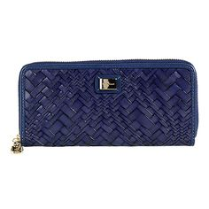 """Cole Haan Optical Weave Travel Zip Wallet - """"great find"""" LOL - got this one!"""