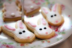 Rabbit Biscuits - Children's Party Food By Dinky Dots